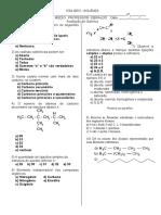 Teste Química Organica GEO