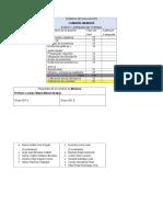 Rúbrica de Evaluación de la comisión de memoria