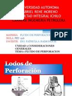Unid 1 Tema 1 Fluido de Perforacion 30-03-16