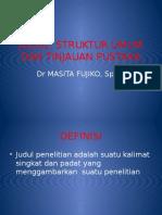 Judul, Struktur Umum Dan Tinjauan Pustaka