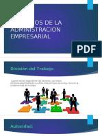 Principios de La Administracion Empresarial