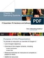 Cisco Fundamentals Chapter 5