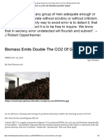 Biomass Emits Double the Co2 of Gas _ Not a Lot of People Know That