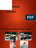cinematica de trauma