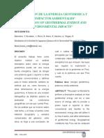 Energia Geotermica- Grupo 4