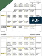 Schedule 2017