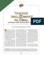 Walmart Going Global