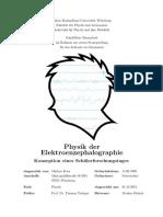 Physik der Elektroenzephalographie Hausarbeit Uni Würzburg