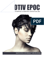 Emotiv EPOC Product Sheet 2014