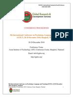 ICPLT Proceedings