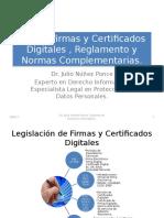 FirmayCertificadoDigital _ DrJulioNunez_Ley de Firmas y Certificados Digitales