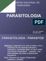 Parasitologã