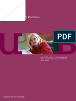 Clinical Psychology Doctorate Brochure