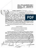 Art. 159 Inc. e. Ac. y Sent. 51 Del 11 de Mayo de 2015. 1a Sala (Boungermini y El Dr Riera Hunter)