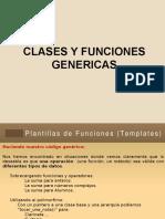 Clases y Funciones Genericas
