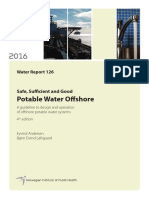 Potable Water Offshore 4th Edition