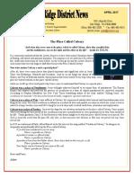 April 2017 Oak Ridge District Newsletter