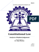 Constitutional Law-Right to equality