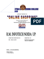 261513589 OnLine Shopping Project