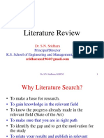 Literature Review SNS