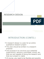 Chapter 3 - Research Design 1