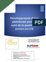 Développement d'Une Plateforme Pour Le Suivi de QoS en LTE- Get Wireless - Stage d'Ingénieur