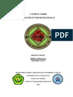 laporan teknik peledakan Ikhwan Prasaja
