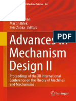(Mechanisms and Machine Science 44) Jaroslav Beran, Martin Bílek, Petr Žabka (Eds.)-Advances in Mechanism Design II_ Proceedings of the XII International Conference on the Theory of Machines and Mecha