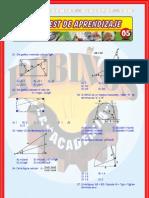 RESOLUCIÓN DE TRIÁNGULOS RECTÁNGULOS ÁREA DE REGIONES TRIANGULARES ÁNGULOS VERTICALES_PROBLEMAS