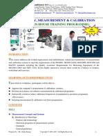 4.Metrology Measurement & Calibration