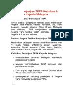 Maksud Perjanjian TPPA Kebaikan & Keburukan Kepada Malaysia