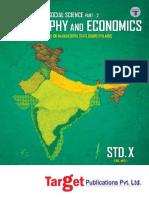 Std Xth Geography and Economics Maharashtra Board (1)