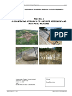 TAMPUS - Plate 3 (a Quantitative Approach of Landslide Assessment and Mitigating Measures)