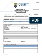 Application Form for Outbound Programme 20-11-2015