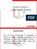Victor Vrooms Expectancy Theory