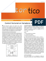 2014 AGO - Control Vectorial en Variadores
