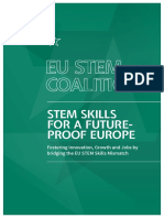 EU STEM Coalition - Brochure 2016