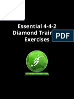 4-4-2 Diamond Training Sessions