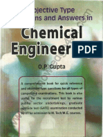 Chemical Engineering by O.P Gupta 1