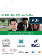 ISO 14001 2004 EMS Lead Auditor Course