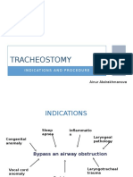 1. Tracheostomy