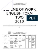 Scheme of Work for Form 2.Docnew