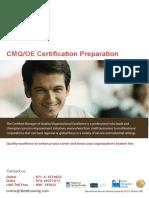 CMQ-Certification Preparation Program-UAE