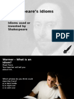 Shakespeare Idioms 1
