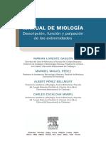 Intro Manual de Miología