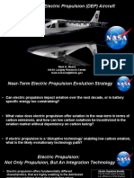 Distributed Electric Propulsion Aircraft