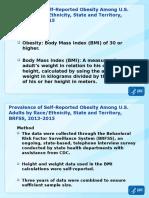 2015 Obesity Prevalence Map