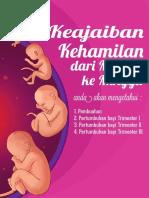 E-BOOK Keajaiban Kehamilan Dari Minggu Ke Minggu