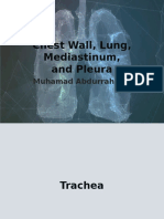 Chest Wall, Lung, Mediastinum,