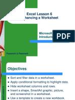 Excel Lesson 06